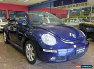 2006 Volkswagen Beetle 9C MY06 Upgrade Cabriolet Blue Automatic 6sp A Cabriolet for Sale