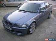 2001 BMW 318I SE BLUE. New 12 month MOT for Sale
