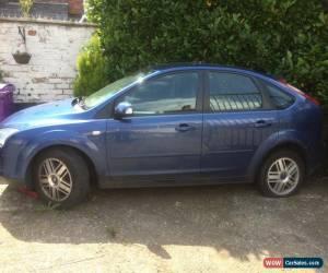 2007 Ford Focus Ghia Tdci Blue