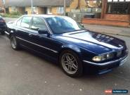 1997 BMW 740I AUTO BLUE  for Sale