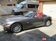 2004 BMW Z4 Convertible--no offer--FIRM for Sale