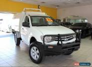 2010 Mitsubishi Triton MN MY10 GLX White Manual M SINLGE CAB CHASSIS for Sale
