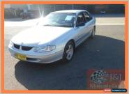 1999 Holden Commodore Vtii Acclaim Silver Automatic 4sp A Sedan for Sale