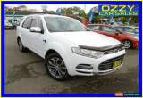 Classic 2011 Ford Territory SZ Titanium (4x4) White Automatic 6sp A Wagon for Sale