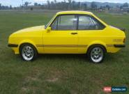 1980 Ford Escort RS2000 (Modified) for Sale