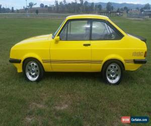 Classic 1980 Ford Escort RS2000 (Modified) for Sale