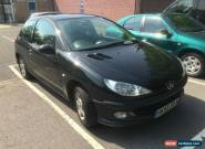 2006 55 PEUGEOT 206 1.1 SPORT 3 DOOR IN BLACK for Sale