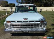 1965 Ford F100 Long Bed PickUp for Sale