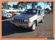 1998 Jeep Grand Cherokee ZG Laredo (4x4) Grey Automatic 4sp A Wagon for Sale