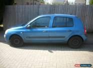 Renault Clio 1.2 Petrol 5 Door Blue for Sale