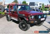 Classic 2002 Toyota Landcruiser HDJ79R (4x4) Red Manual 5sp M Cab Chassis for Sale