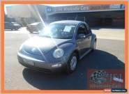 2004 Volkswagen Beetle 9C 1.6 Ikon Grey Manual 5sp M Hatchback for Sale