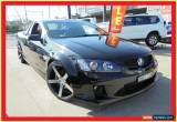 Classic 2009 Holden Ute VE MY09.5 SS V Black Automatic A Utility for Sale