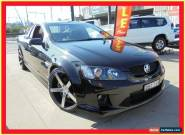 2009 Holden Ute VE MY09.5 SS V Black Automatic A Utility for Sale