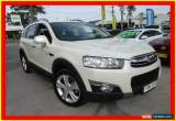 Classic 2011 Holden Captiva CG Series II 7 LX White Automatic A Wagon for Sale