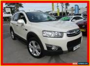 2011 Holden Captiva CG Series II 7 LX White Automatic A Wagon for Sale