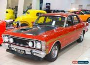 1970 Ford Falcon XW GT Track Red Manual 4sp M Sedan for Sale