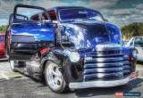Classic 1952 Chevrolet dualcab coe pickup  for Sale