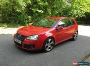 2005 VOLKSWAGEN GOLF GTI AUTO RED mk6 Turbo DSG Automatic NO RESERVE for Sale