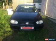 2002 VOLKSWAGEN GOLF GT TDI BLACK 5 DOOR HATCHBACK DIESEL for Sale
