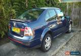Classic 2002 VOLKSWAGEN VW BORA GOLF TDI SPORT BLUE PD130 for Sale