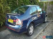 2002 VOLKSWAGEN VW BORA GOLF TDI SPORT BLUE PD130 for Sale