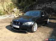 2006 BMW 330D M SPORT BLACK SPARES OR REPAIR for Sale