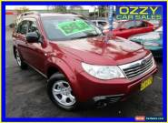 2009 Subaru Forester MY09 X Maroon Automatic 4sp A Wagon for Sale