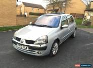 2003 03 RENAULT CLIO INITIALE 1.6 PETROL MANUAL 5 DOOR HPI CLEAR BARGAIN for Sale