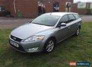 2008/58 FORD MONDEO ZETEC TDCI 140 SILVER ESTATE, FSH for Sale