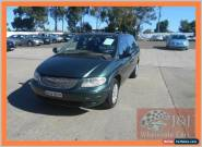 2001 Chrysler Voyager RG SE Green Automatic 4sp A Wagon for Sale