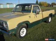 Dodge: Other Pickups D100 Adventurer Sport for Sale