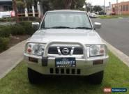 2004 Nissan Navara D22 ST-R (4x4) Manual 5sp M Dual Cab Pick-up for Sale