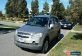 Classic Holden Captiva  Diesel Manual  2007   No Reserve for Sale