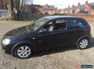 Vauxhall Corsa 1.2 Breeze Manual Black 2005 for Sale