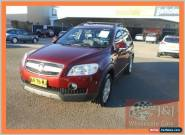 2007 Holden Captiva CG LX (4x4) Red Automatic 5sp A Wagon for Sale