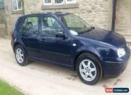 2002 VOLKSWAGEN GOLF TDI SE BLUE for Sale