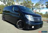 Classic 2003 Nissan Elgrand Highway Star E51 Black On Black Wagon for Sale