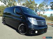 2003 Nissan Elgrand Highway Star E51 Black On Black Wagon for Sale