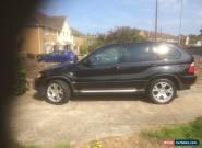 2001 BMW X5 SPORT AUTO BLACK for Sale
