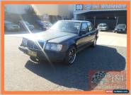 1989 Mercedes-Benz 260 W124 E Black Automatic 4sp A Sedan for Sale