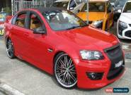 2007 Holden Commodore VE MY08 SS-V Red Manual 6sp M Sedan for Sale