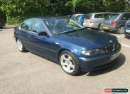 2003 53 BMW 325I SE 4 DOOR SALOON IN BLUE for Sale