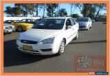 Classic 2005 Ford Focus LS CL White Automatic 4sp A Sedan for Sale