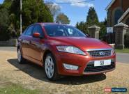 2008 FORD MONDEO TITANIUM 2.0 TDCI 140 BURGUNDY 6 SPEED MANUAL DIESEL for Sale