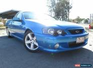 2004 Ford Falcon BA MkII XR6T Blue Manual 6sp M Utility for Sale
