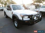 2011 Ford Ranger PK XL 4X4 White Manual 5sp M Dual Cab Pick-up for Sale