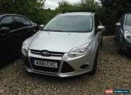 2012 FORD FOCUS EDGE TDCI 95 ESTATE SILVER NON RUNNER SPARES OR REPAIR for Sale