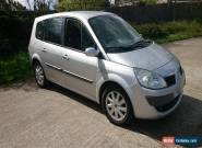 2008 RENAULT SCENIC II SILVER 2.0 petrol 73 633 mileage for Sale