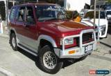 Classic 1997 Holden Jackaroo SE LWB 4X4 Red Automatic 4sp A Wagon for Sale